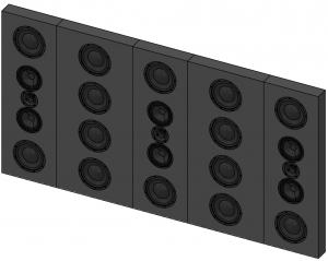 Garvan Soundwall 86mm flach